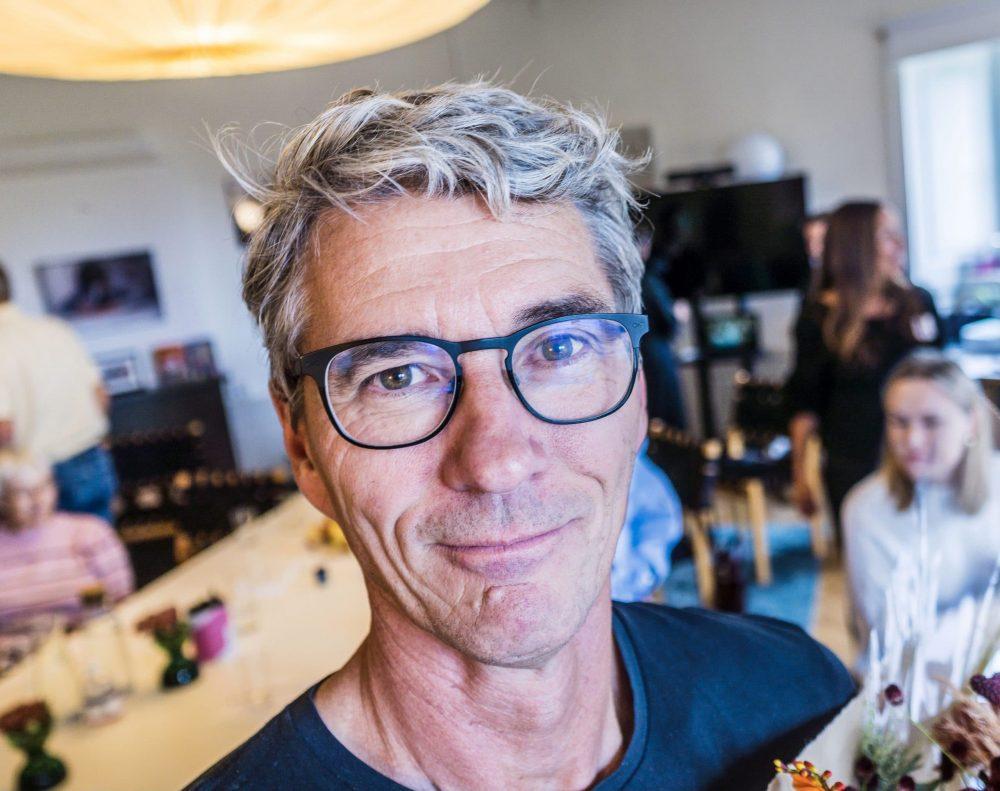 Författaren och illustratören Johan Unenge